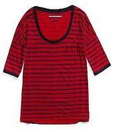 Tommy Hilfiger Women's Printed Stripe Tee