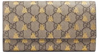 27f53064f132 Gucci Supreme Wallet - ShopStyle