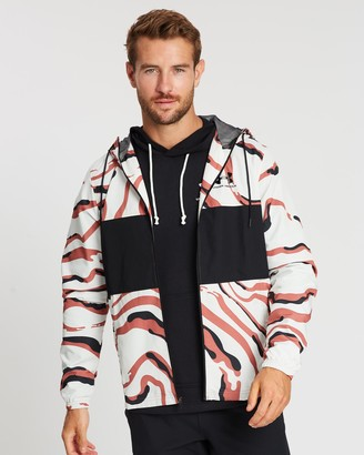 Under Armour Sportstyle Wind Printed Hooded Jacket