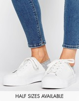 Asos Dion Flatform Lace Up Trainers