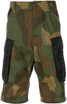 G Star G-Star camouflage print shorts