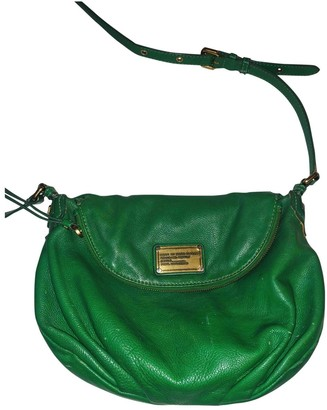 Marc by Marc Jacobs Green Leather Handbags