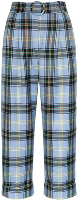 Shrimps Houston checked trousers