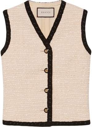 Gucci Tweed vest
