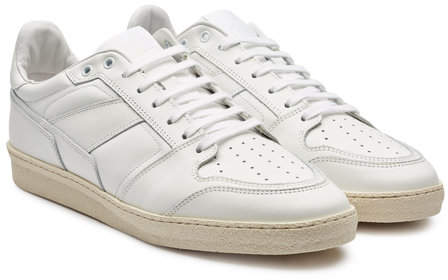 Ami Low-Top Leather Sneakers