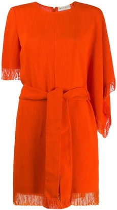 Emilio Pucci Fringed Edge Dress