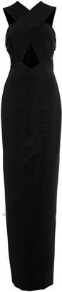 Cushnie Cut-Out Cady Column Dress