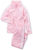 adidas Infant Girls) Two-Piece Tricot Jacket & Joggers Set