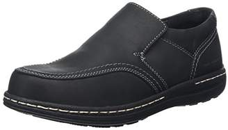 Hush Puppies Men's Vindo Victory Loafers, Black, 43 EU