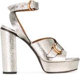 Chloé Kingsley plateau sandals - women - Leather - 40