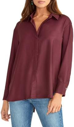 Rachel Roy Long-Sleeve Wrap Shirt