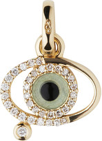 Links of London Evil eye 18ct gold and diamonds charm