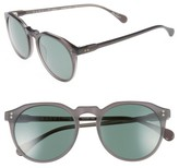 Raen Men's 'Remmy' 52Mm Polarized Sunglasses - Matte Grey Crystal