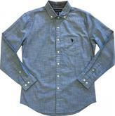 U.S. Polo Assn. Men's Long-Sleeved Canvas Shirt