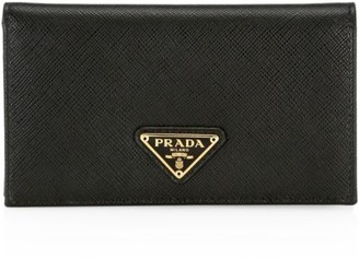 Prada Saffiano Leather French Wallet