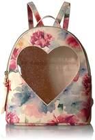 T-Shirt & Jeans Floral Heart Back Pack