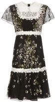 Giambattista Valli Lace And Silk Dress