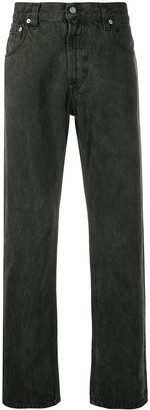 A-Cold-Wall* Mid Rise Acid Wash Jeans