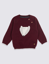 Marie Chantal Marie-chantal Intarsia Jumper with Cashmere
