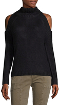 Lucca Couture Women's Tatiana Cold Shoulder Sweater