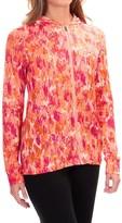 Ibex VT Printed Hoodie - Merino Wool, Full Zip (For Women)