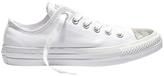 Converse Chuck Taylor All Star Ox 555816 Canvas/Metallic Toecap White/Silver/White Sneaker