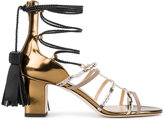 Jimmy Choo Diamond 65 sandals - women - Leather/Suede - 35