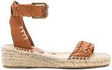 Soludos Woven Demi Wedge Sandal