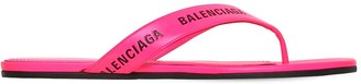 Balenciaga 10MM LEATHER THONG SANDALS