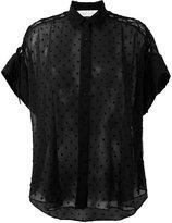 IRO shortsleeved shirt - women - Polyester - 36
