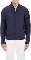 Z Zegna Men's Poplin Zip-Front Jacket
