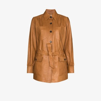 Frame Safari leather jacket