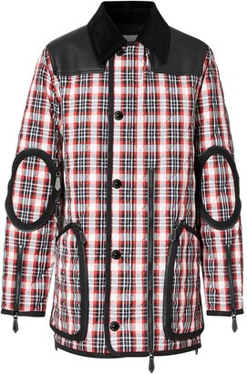 Burberry Check-Print Jacket