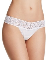 Hanky Panky Petite Cotton with a Conscience Low-Rise Thong