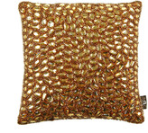 Aviva Stanoff Jewel Bed Cushion 25x25cm - Orange