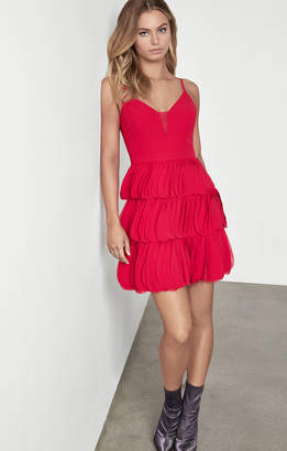 BCBGMAXAZRIA Chiffon Party Dress