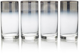 Mikasa Cheers Ombre Set of 4 Highball Glasses