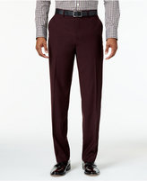 Sean John Men's Classic-Fit Burgundy Solid Pants