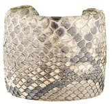 Ted Rossi Embossed Leather Cuff