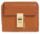 Chloé Women's Drew Leather Square Wallet - Brown