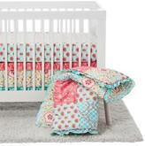 The Peanut Shell Crib Bedding Set 4pc - Mila