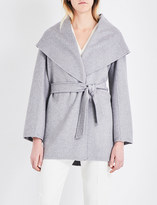Max Mara Paglie cashmere wrap coat