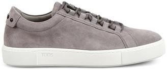 Tod's Suede Low Top Sneakers