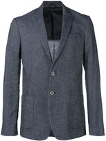 Dondup peaked lapel blazer - men - Cotton/Linen/Flax/Polyester/Viscose - 48