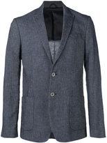 Dondup peaked lapel blazer - men - Cotton/Linen/Flax/Polyester/Viscose - 50