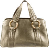 Gucci Bamboo Ring Leather Bag