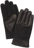 Timberland Men's Suede and Leather Gloves