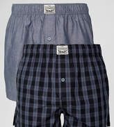 Levis Woven Boxers In Check