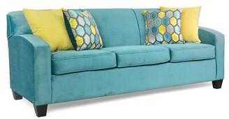Audel Sofa Latitude Run Upholstery Color: Liberty Bayou/Benson Curty/Mallorca Laguna