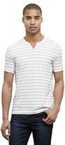 Kenneth Cole New York Men's Short Sleeve Stripe Henley